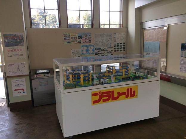 窪川駅4 ~駅舎内にプラレール~