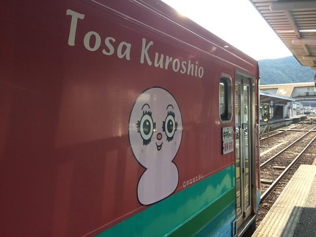 Photos: 窪川駅15 ~土佐くろしお鉄道のキャラ?~