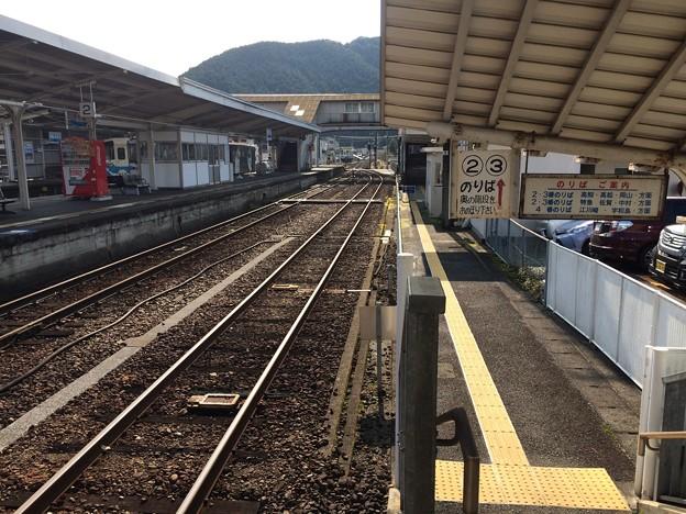 窪川駅16 ~中村・宿毛方面を望む~