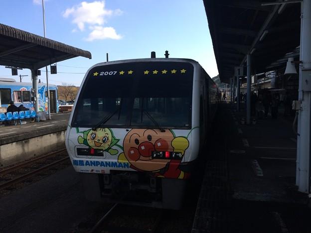 中村駅10 ~アンパンマン列車~