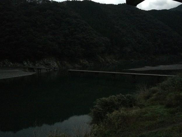 岩間沈下橋 ~寸断~
