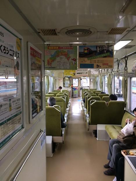 土佐くろしお鉄道 中村・宿毛線 車内