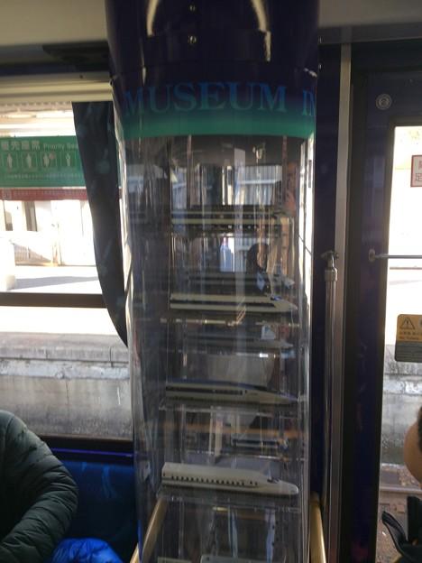 Photos: 海洋堂ホビートレイン 車内2