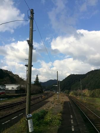 江川崎駅2