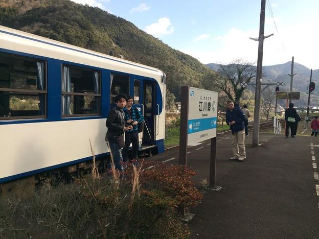 江川崎駅3