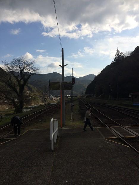 江川崎駅4
