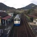 吉野生駅7 ~跨線橋から宇和島方面を望む~