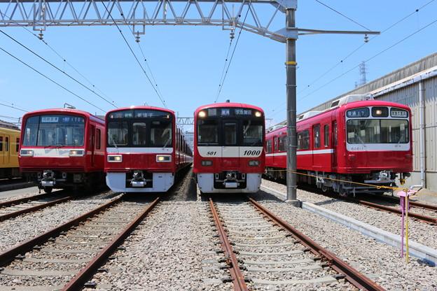 京急2000形 2011F・1500形 1517F・新1000形 1801F・800形 826F