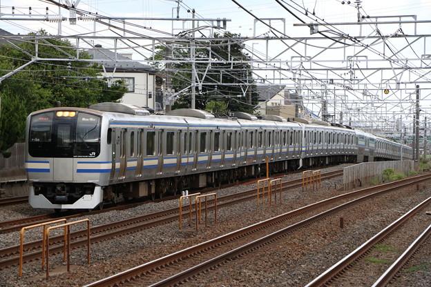横須賀・総武快速線E217系 Y-128編成