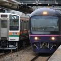 両毛線211系3000番台 C6編成・485系 TG02編成 華
