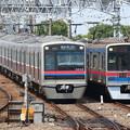 写真: 京成3000形 3038F・3700形 3868F