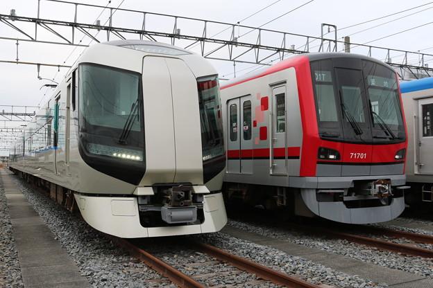 東武本線500系 50*F リバティ・70000系 71701F