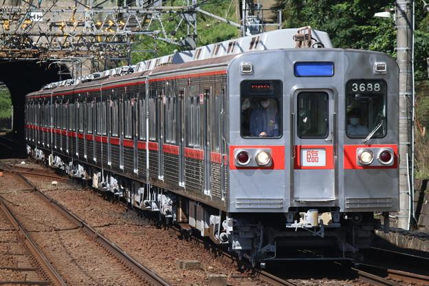 京成3600形 3688F(6両リバイバルカラー) 団臨