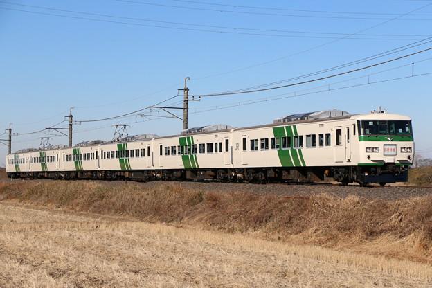 185系200番台 B6編成 快速早春成田初詣号