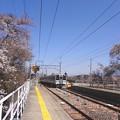 Photos: 春の飯田線(伊那本郷駅にて)2