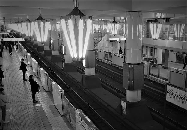天王寺駅のシャンデリア