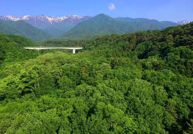 中田切渓谷