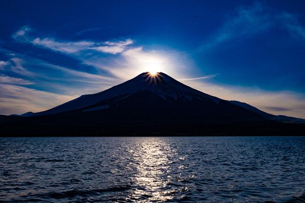 2021年2度目のダイヤモンド富士