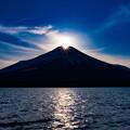 Photos: 2021年2度目のダイヤモンド富士