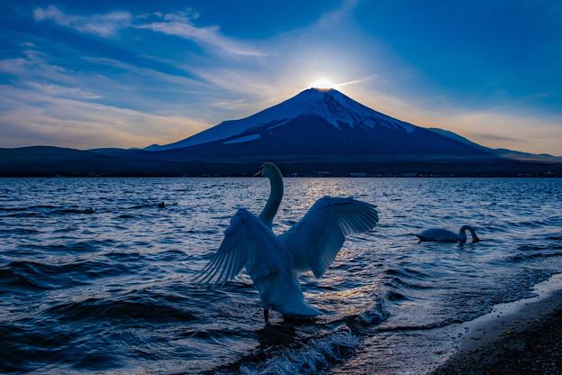 ダイヤモンド富士の後で