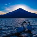 Photos: ダイヤモンド富士の後で、その後