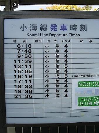 081018-小淵沢駅小海 (1)