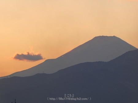 180205-富士山(夕) (2)