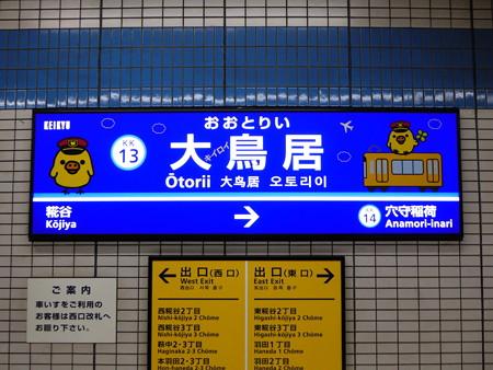 おおキイロイトリい駅 ホーム (2)
