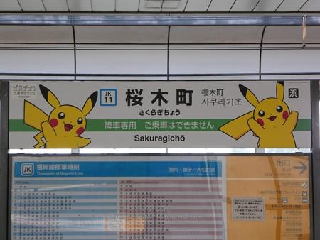 180716-ピカチュウ大量発生チュウ@桜木町駅 ホーム 2番線 後(望遠) (2)