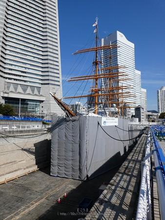 190224-帆船日本丸 1号ドック (21)