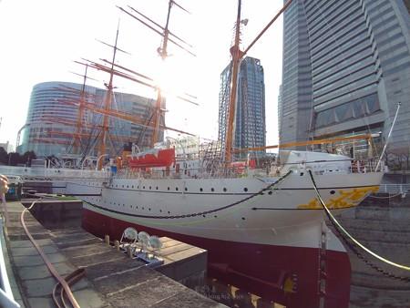 P_20190315_帆船日本丸 (修繕中)(26)