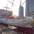 Photos: P_20190315_帆船日本丸 (修繕中)(26)