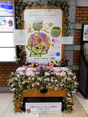 200328-花の香りガイドブックスタンド @日本大通り駅 (2)