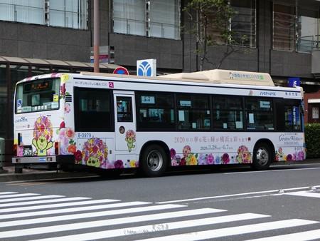 200402-ガーデンベアラッピングバス@横浜駅西口 (1)