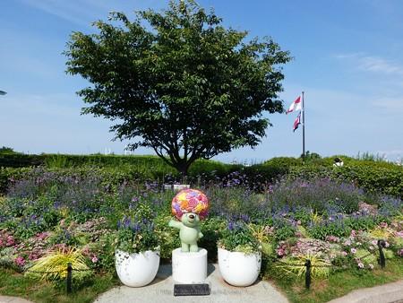 200605-ガーデンベアフォトスポット@港の見える丘公園 (1)