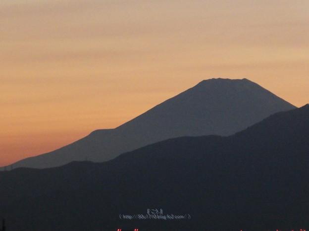201031-富士山(夕)