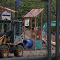 Photos: 公園建設なう