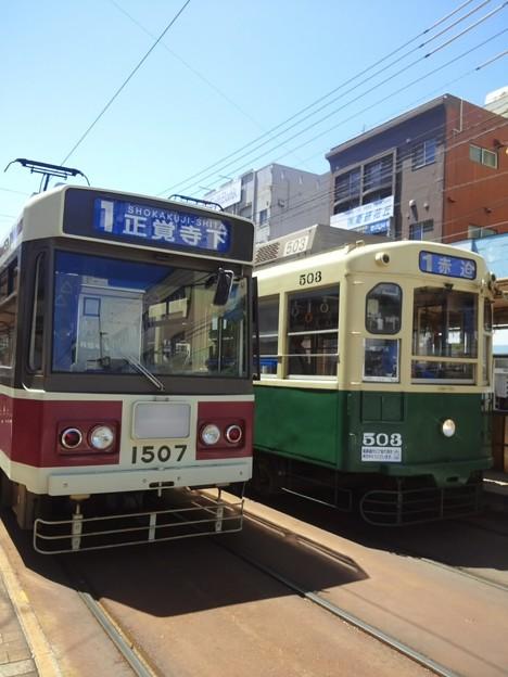 【11855号】路面電車 平成290428 #NTS4