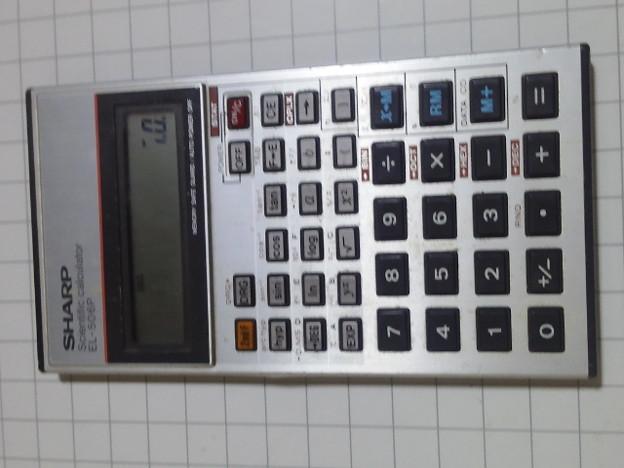 【12022号】関数電卓 平成290523 #NPS2