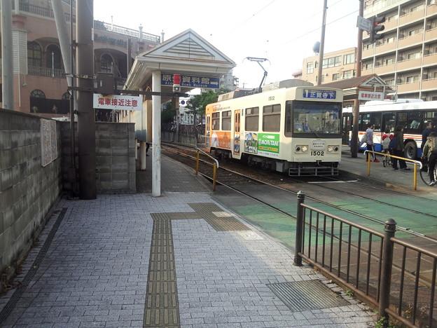 【13534号】バスと路面電車 平成300427 #NTS1