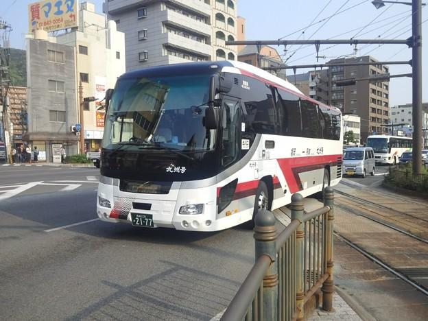 【13534号】バスと路面電車 平成300427 #NTS5