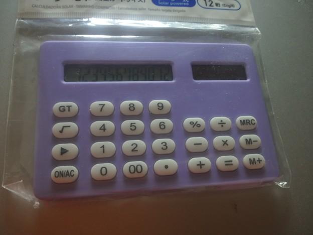 【13641号】電卓 平成300525 #NPS2