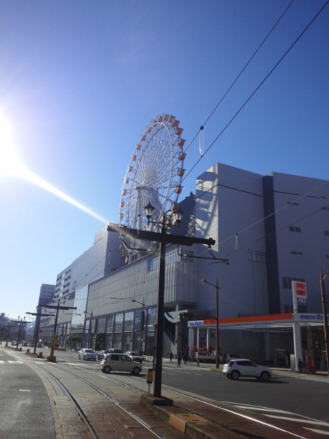【14207号】バスと路面電車 平成301215 /2