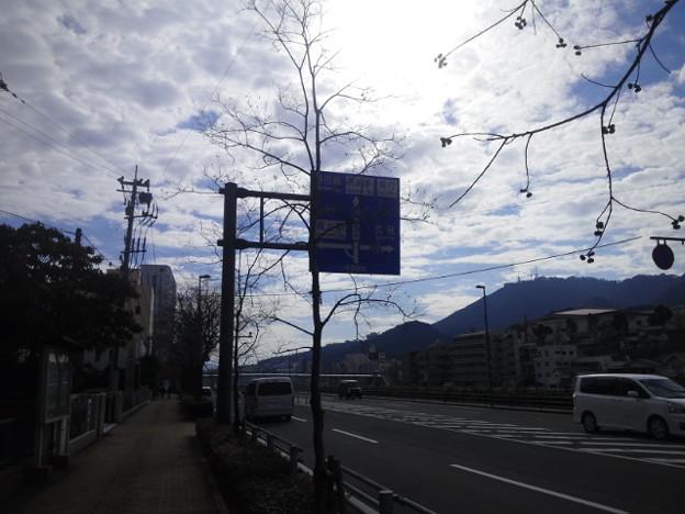 【14310号】背景合成用素材:街並み 平成310119 /1