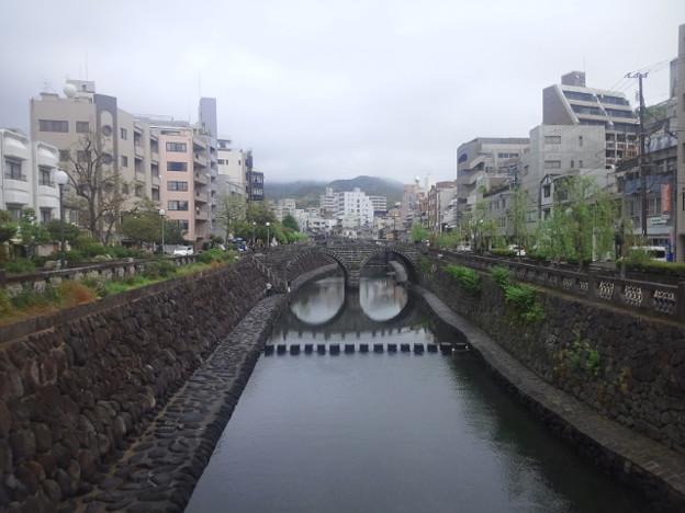 【14592号】きょうの眼鏡橋 平成310424 /1