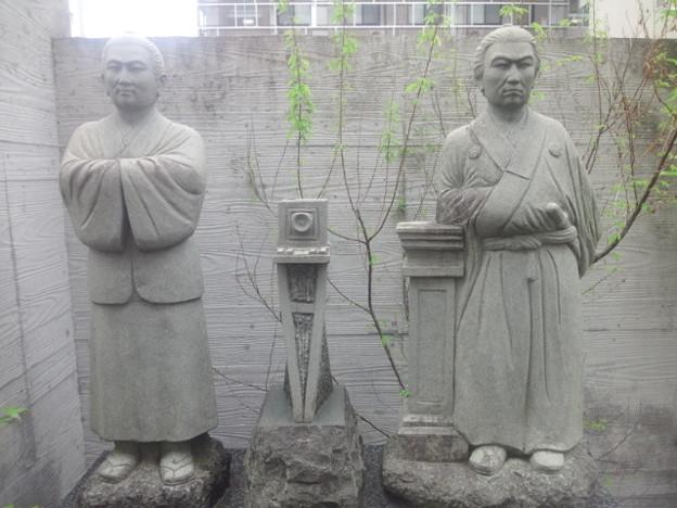 【14594号】上野彦馬像 平成310424 /4