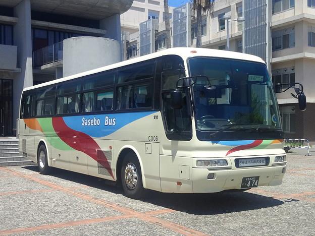 【14698号】させぼバスC006 令和010521 #NTS /2