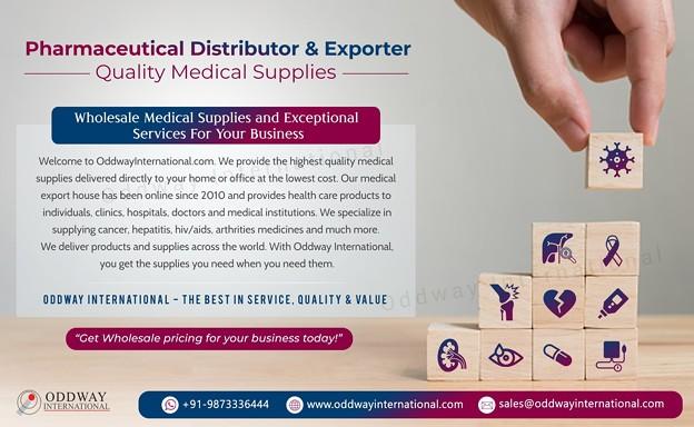 インドの医薬品輸出業者