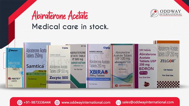 インドからAbiraterone Acetateをオンラインで購入する