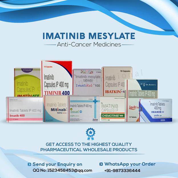 インドのメシル酸イマチニブの価格
